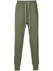 Tom Ford Drawstring Track Trousers Green