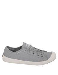 Palladium Cotton Canvas Sneakers Grey