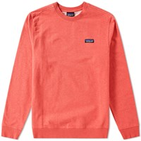 Patagonia P6 Label Crew Sweat Red