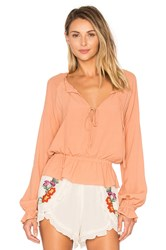 Lovers Friends Holiday Top Tan