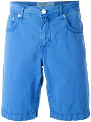 Jacob Cohen Bermuda Shorts Blue