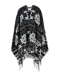 George J. Love Coats And Jackets Capes And Ponchos Black