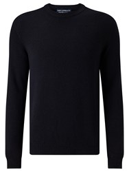 John Lewis And Co. Merino Cashmere Jumper Navy