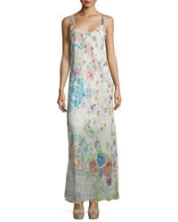 Johnny Was Blossom Mix Print Maxi Dress Multi Floral Women's
