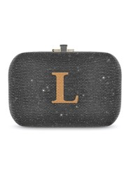 Judith Leiber Couture Slim Slide Bag Grey