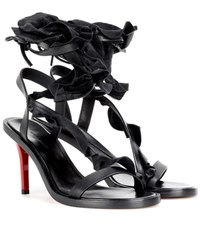 Isabel Marant Ansel Leather Sandals Black