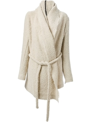 Lost And Found 'Alabaster' Coat Nude And Neutrals