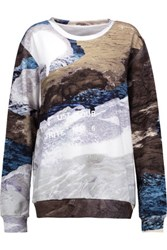 Maison Martin Margiela Mm6 Printed Cotton Sweatshirt Multi