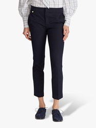 Ralph Lauren Lycette Skinny Trousers Navy