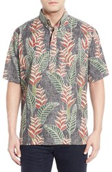 Men's Reyn Spooner 'Heliconia Isle' Classic Fit Wrinkle Free Pullover Shirt