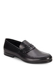 Harry's Of London James Satin Calf Loafers Black