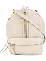 See By Chloe Zip Backpack Nude And Neutrals