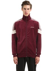 Adidas Challenger Velour Track Jacket
