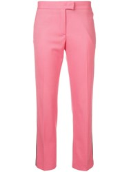 Paul Smith Ps Cropped Trousers Pink