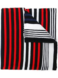 Sonia Rykiel Striped Scarf Black