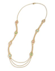 Carolee Cosmo Goldtone Rope Necklace