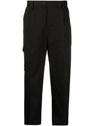 Msgm Cropped Straight Trousers 60