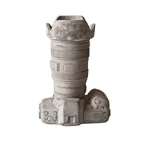 Seletti Cement Camera Utensil Pot Design 2