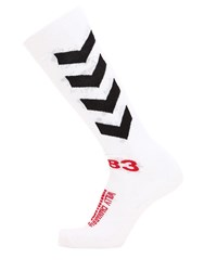 Hummel Willy Chavarria Cotton Blend Sport Socks White