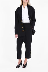 Ellery Women S Sculpted Blazer Boutique1 Black W Gold