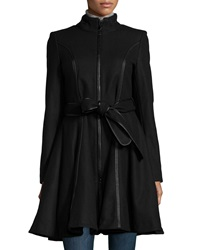 Dawn Levy 2 Fergie Fit And Flare Coat Black