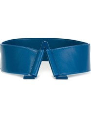 Golden Goose Deluxe Brand Leather Waist Belt Blue