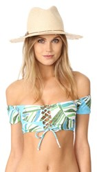 Hat Attack Fringed Rancher Natural