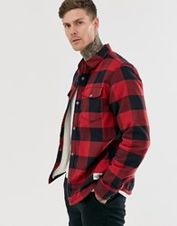 The North Face Campshire Shirt In Red Red