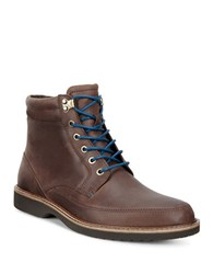 Ecco Ian Leather Boots Brown
