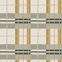 Tempaper Paired Back Plaid Wallpaper Sample Swatch