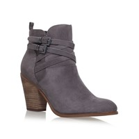 Miss Kg Spike High Heel Ankle Boots Light Grey