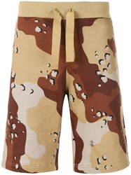 Christopher Raeburn Choc Chip Print Shorts Nude And Neutrals