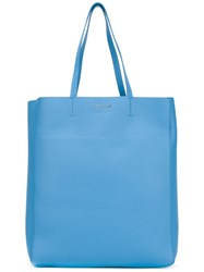 Orciani Classic Shopping Bag Blue