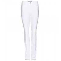 J Brand Remy High Waisted Jeans Blanc