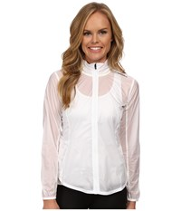 Brooks Lsd Jacket White Women's Coat