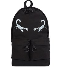 Off White C O Virgil Abloh Othelo Cotton Backpack Black Med