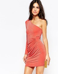 Jessica Wright Kyra Body Conscious Dress Coral