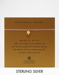 Dogeared Grateful Heart Gold Plated Wish Necklace Gold
