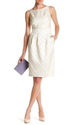 Eva Franco Larkin Textured Dress Gray