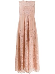 Red Valentino Floral Embroidered Dress 60