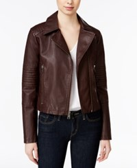 Levi's Faux Leather Moto Jacket Port