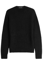 Neil Barrett Pullover With Wool And Mohair Black