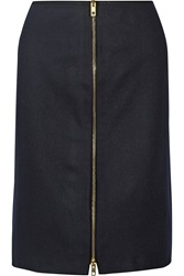Rag And Bone Mazy Wool Blend Pencil Skirt