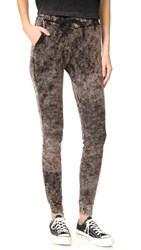 Cotton Citizen Monaco Thermal Jogging Pants Black Dust