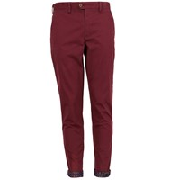Lords Of Harlech Jack Chino In Red Rust 34 Inseam