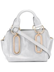 See By Chloe Double Handles Tote Grey