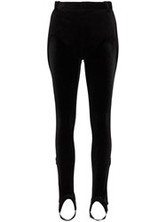 Y Project Hybrid Stirrup Trousers Black