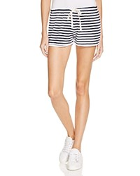 Sundry Dolphin French Terry Shorts White