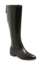 Geox 'Lover' Boot Women Black Smooth Leather