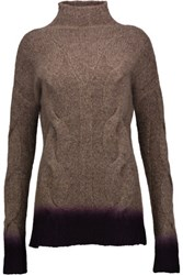 Autumn Cashmere Dip Dyed Sweater Brown